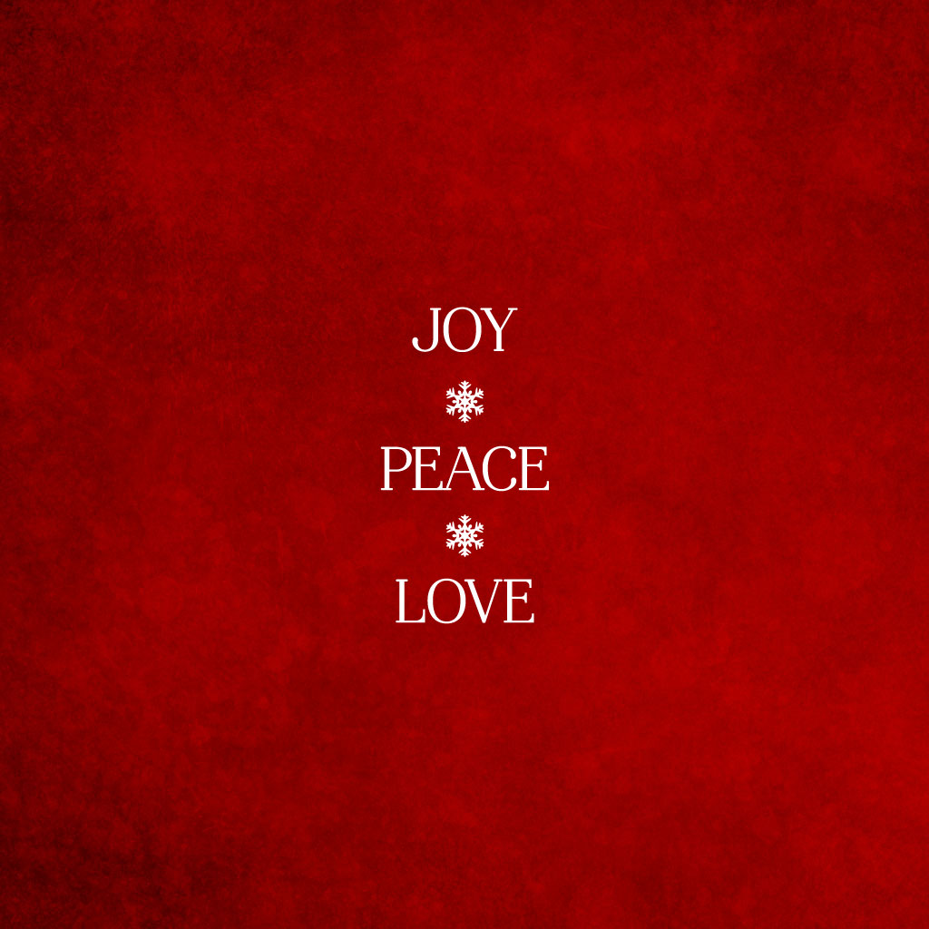 Peace And Love Iphone Wallpaper : December Treats for You - Screen Savers for your computer and mobile devices - Activate Her Awesome