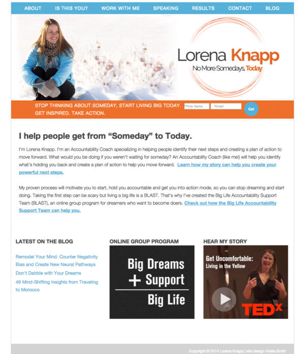Lorena Knapp, site design by Krista Smith.png