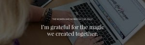 Compliments, for Krista Smith wordpress web designer and developer and business coach