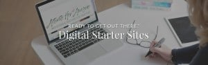 Digital Starter Sites with Krista Smith, ActivateHerAwesome.com
