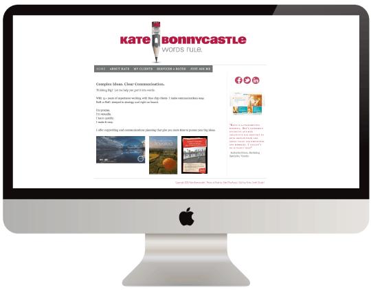 A Digital DNA website by Krista Smtih
