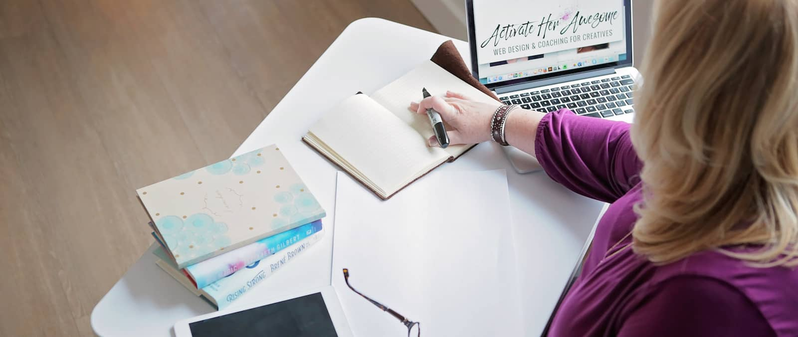 Krista Smith, Wordpress Web Design and Development for women entrepreneurs