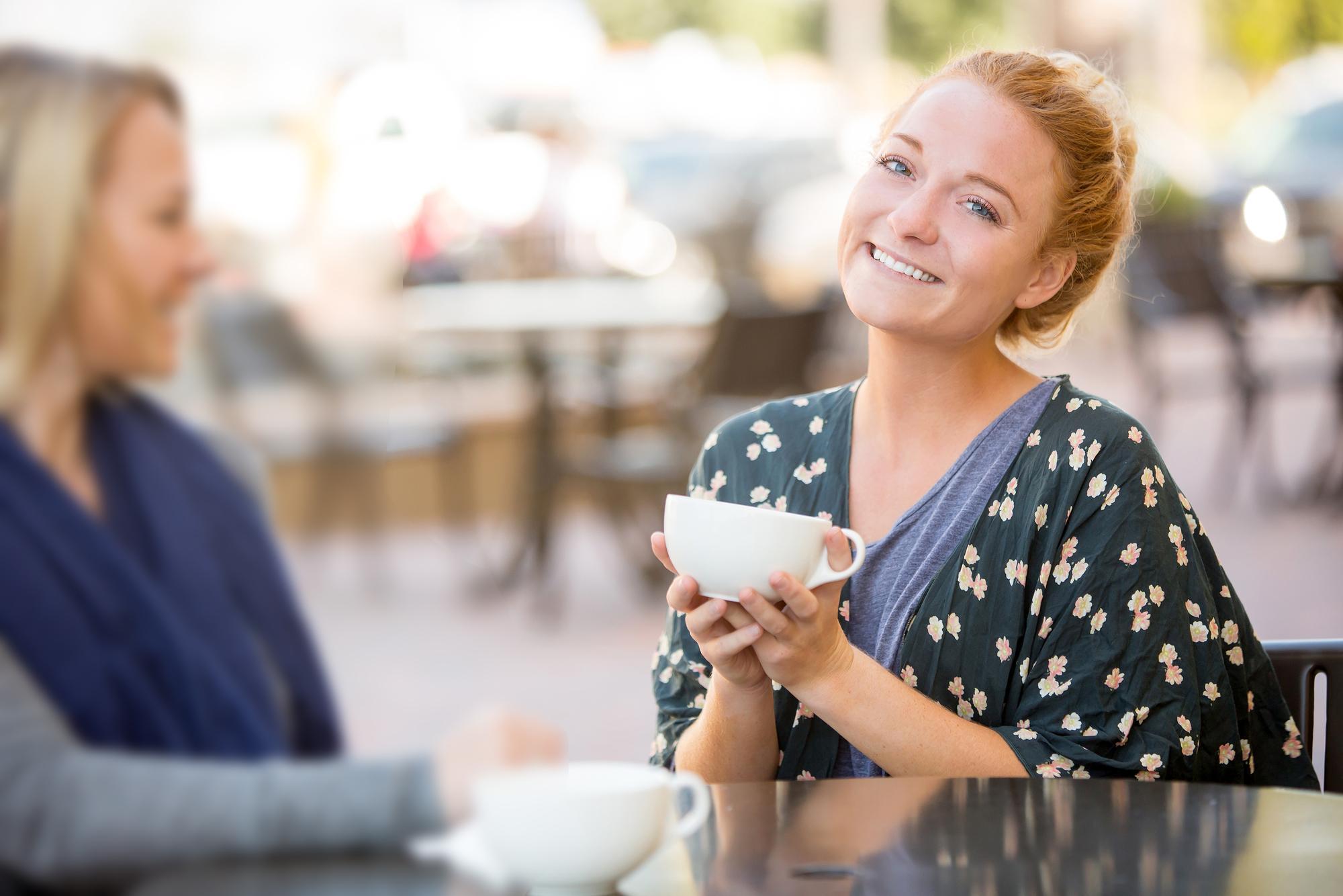 Girlfriends coffee