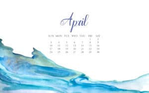 Computer Wallpaper April 2016 Download via Krista Smith ActivateHerAwesome.com