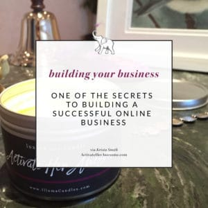 Discover one of my secrets to building a successful online business today at ActivateHerAwesome.com