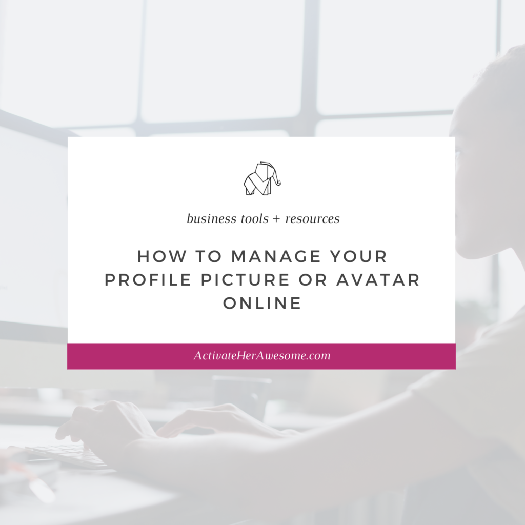 How to Manage Your Profile Picture or Avatar Online by Krista Smith