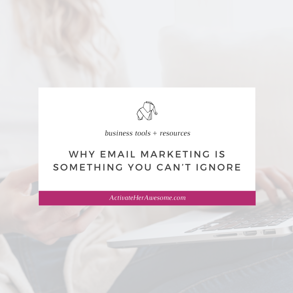 Why Email Marketing is Something You Can't Ignore by Krista Smith