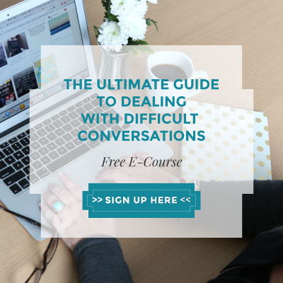 Sign up for The Ultimate Guide to Dealing with Difficult Client Conversations - A FREE ECOURSE by Krista Smith and Jac McNeil via TheCommunicationKit.com